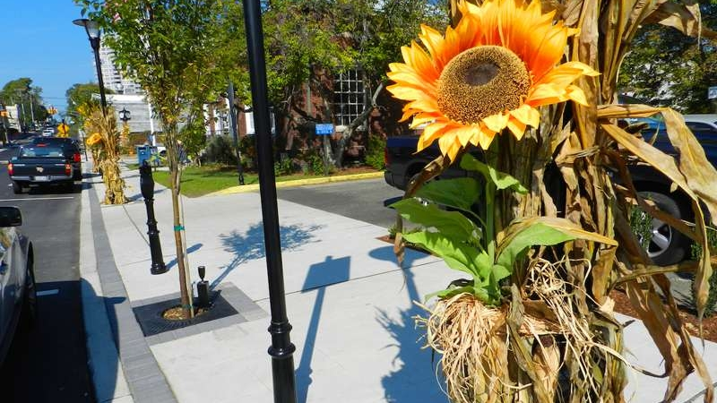 The Fort Lee BDA decorates revitalized business district for Fall season