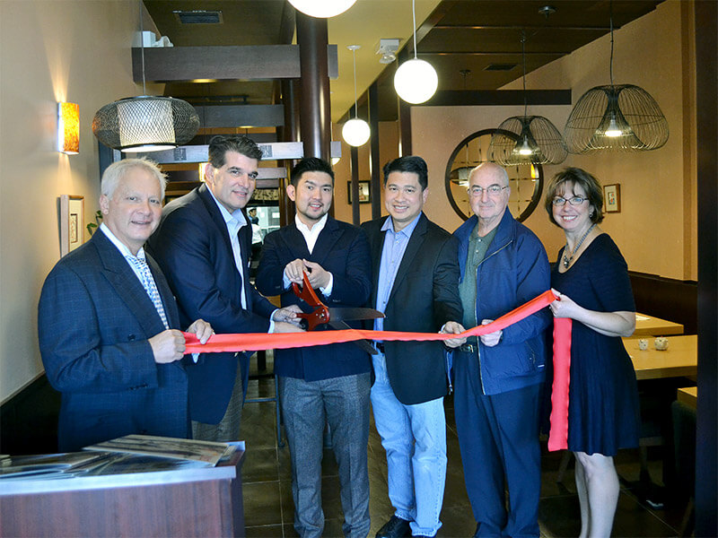 Ribbon Cutting at Soba Noodle Azuma in Fort Lee