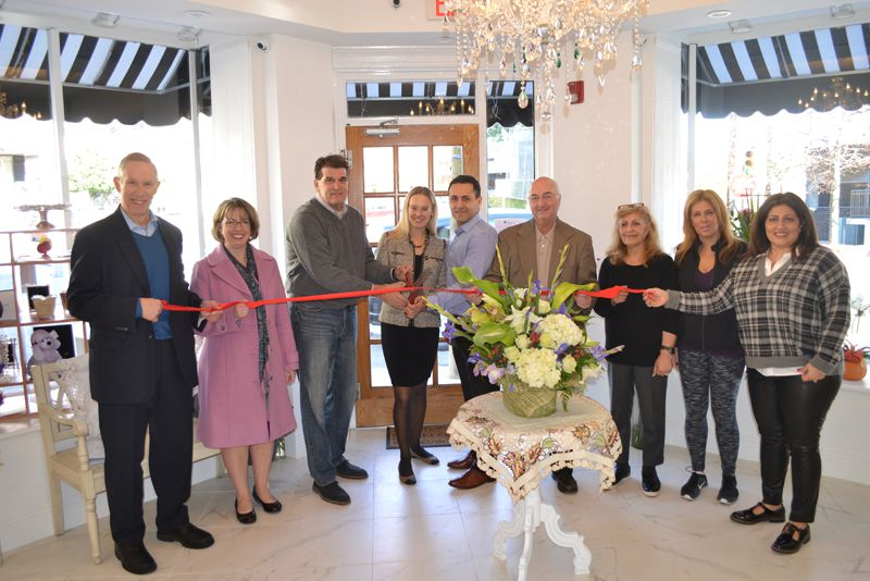 Violet's Florist Ribbon Cutting in Fort Lee, NJ